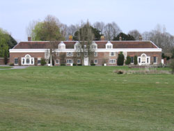 Bentley House, a Palladian-style mansion designed by Erith