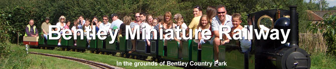 Bentley Miniature Railway in the grounds of Bentley