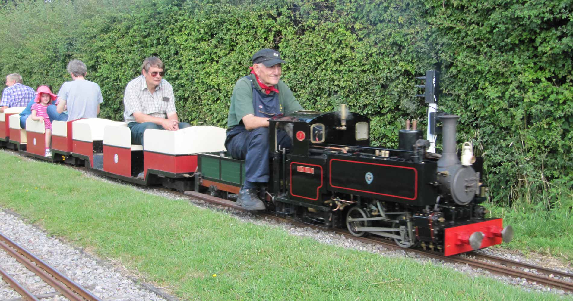 Black Tom Rolt steam loco