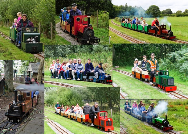 Narrow Gauge weekend collage