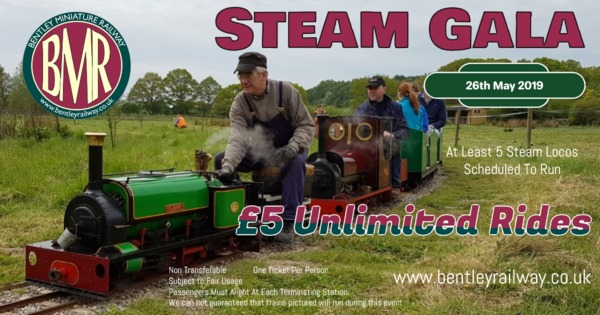 Steam Gala 26th May 2019